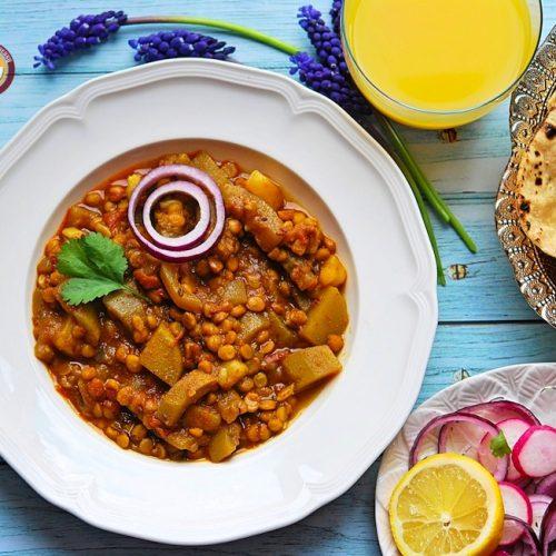 Lauki Chana Dal Curry Recipe   Your Food Fantasy