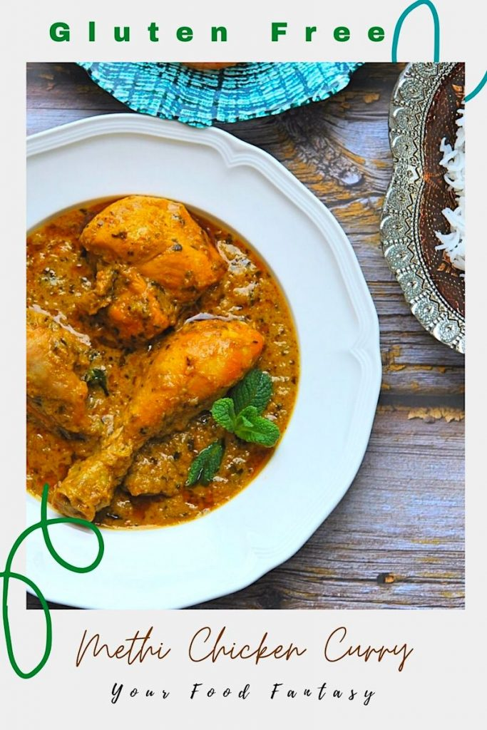 Methi Chicken Curry Recipe | Your Food Fantasy