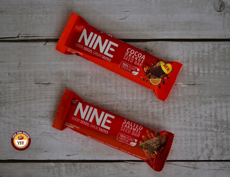 Nine Seed Bars - Your Food Fantasy
