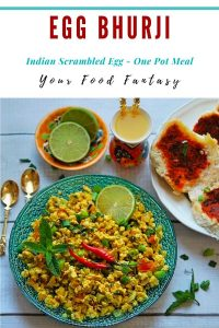 Egg Bhurji Recipe   Your Food Fantasy