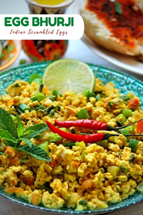 Egg Bhurji Recipe - Your Food Fantasy
