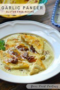 Garlic Paneer Recipe - Lehsun Paneer | Your Food Fantasy