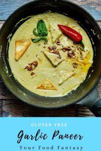 Lehsuni Paneer - Garlic Paneer Recipe | Your Food Fantasy