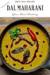 Dal Maharani Recipe   Your Food Fantasy