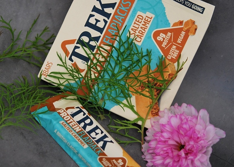 Trek Caramel Protein Flapjack - Your Food Fantasy