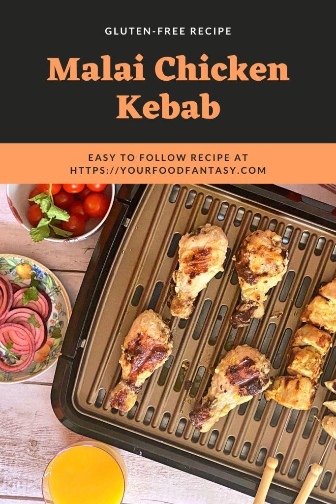Malai Chicken Kebab