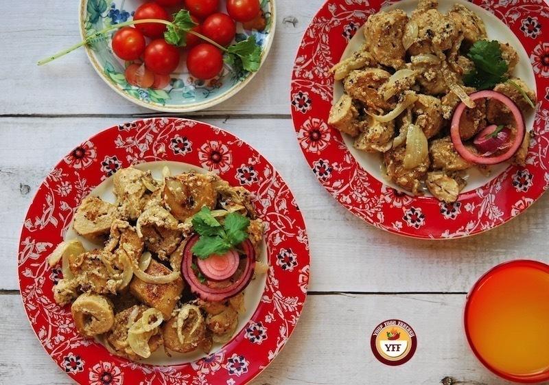Soya Malai Chaap Recipe | YourFoodFantasy.com