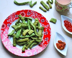 Spinach Namak Para Recipe   Your Food Fantasy