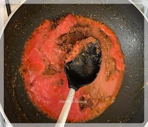 Add Tomato Puree to make Mixed Veg   Your Food Fantasy