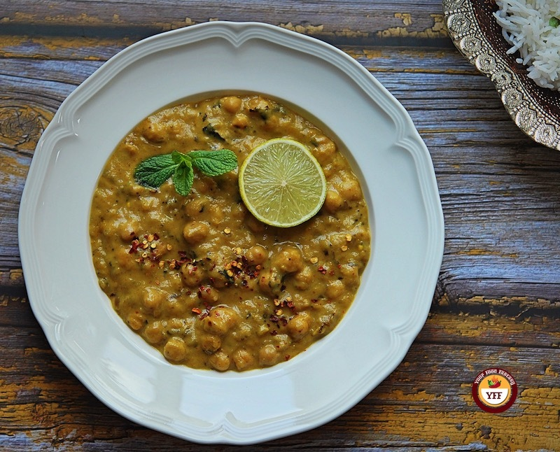 Aubergine and Chickpea Curry Recipe   Your Food Fantasy