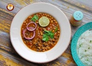 Black Eyed Bean Curry | Punjabi Lobia Curry | Your Food Fantasy