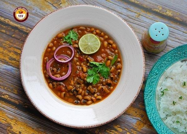 Black Eyed Bean Curry   Punjabi Lobia Curry   Your Food Fantasy