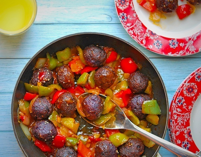 Purple Cabbage Manchurian Recipe | Your Food Fantasy