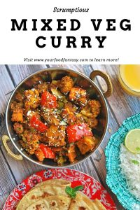 Mixed Veg Curry | Your Food Fantasy