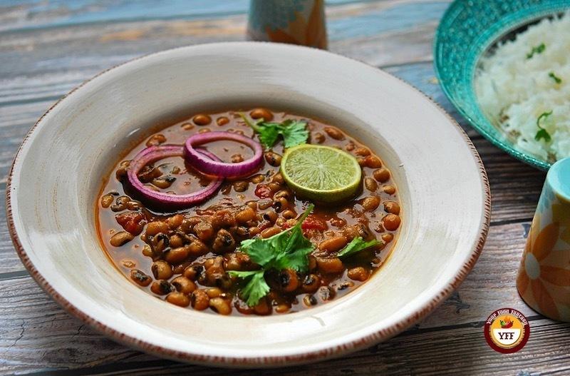 Punjabi Lobia Curry Recipe   YourFoodFantasy.com