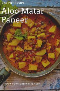 Aloo Matar Paneer Curry Recipe