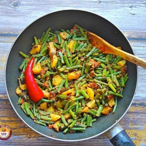 Bean Aloo Recipe   Your Food Fantasy