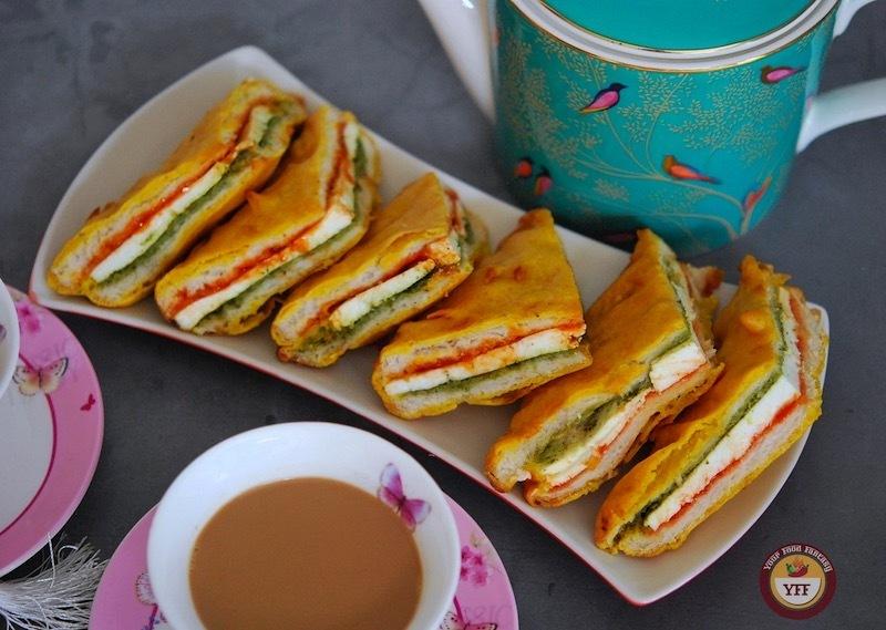 Bread Paneer Pakoda Recipe | Your Food Fantasy