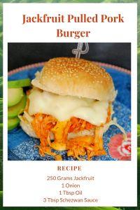Jackfruit Pulled Pork burger Recipe