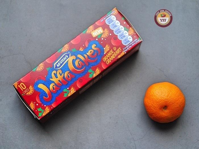 Jaffa Cakes Orange & Cranberry Review