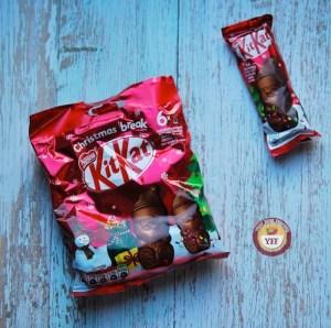 Kitkat Santa Chocolate Bar Review