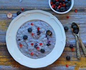 Blueberry Kheer - How to make best kheer