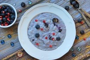Blueberry Phirni - Blueberry Kheer Recipe