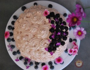 How to make blackberry cake