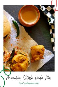 Mumbai Style Vada Pav Recipe