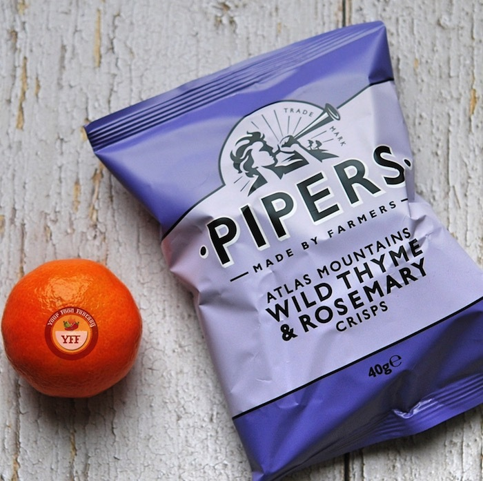 Pipers Crisps - Thyme & Rosemary Review