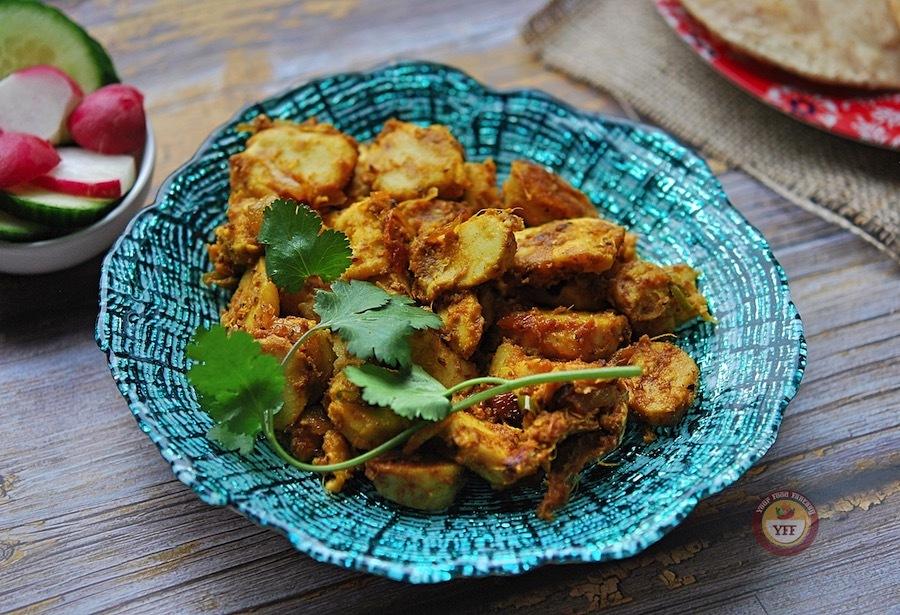 Arbi Recipe - Taro Root Curry