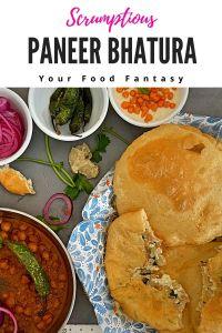 Paneer Bhatura Recipe - Bhatoora recipe