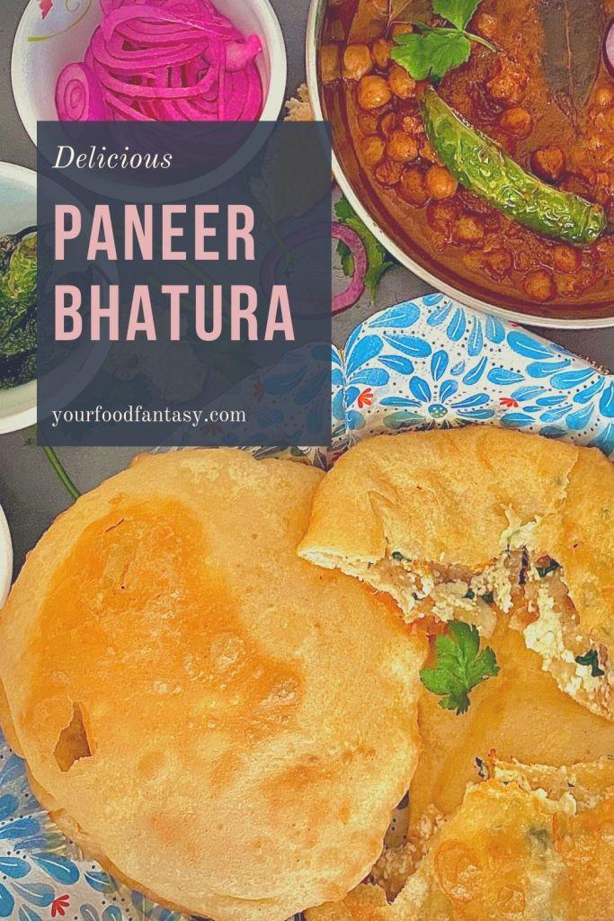 Paneer Bhatura Recipe