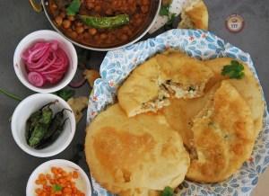 Paneer Bhatura Recipe - Your Food Fantasy