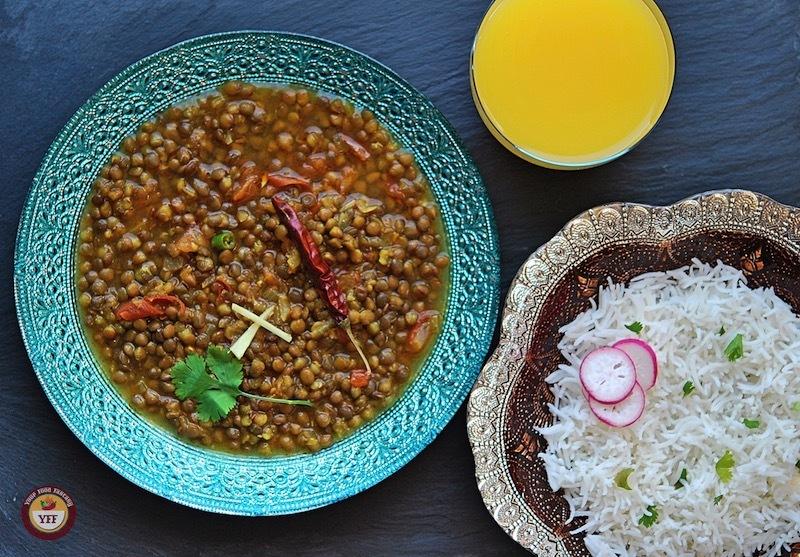 Sabut masoor dal recipe - Your Food Fantasy