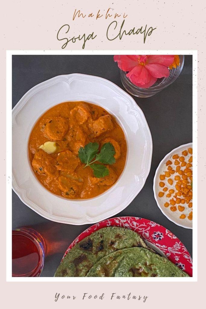Soya Chaap Makhni Recipe