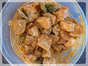 Tofu Tikka Mix - ready to be cooked