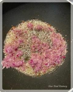 Adding Onion Paste