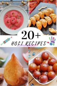 Holi Recipes - Sweet and snacks