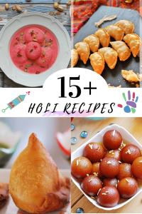 Recipes for Holi, sweets for holi festival, snacks for holi