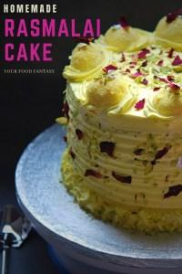 Rasmalai Cake Recipe