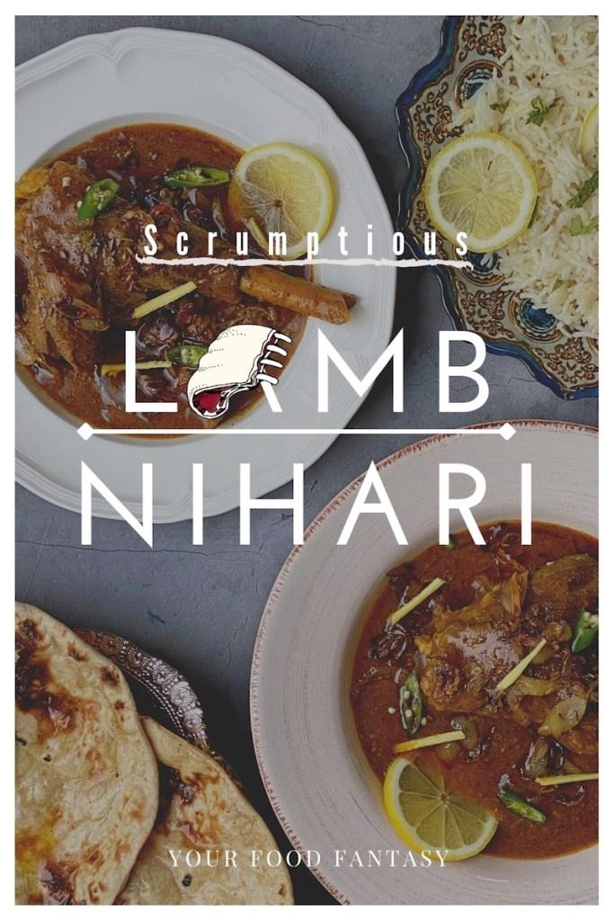 Lamb Nihari Recipe - Lamb Shank Curry