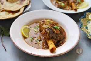 Mutton Nalli Nihari - Lamb Shank Curry Recipe