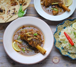 Mutton Nihari Recipe - Lamb Shank Curry