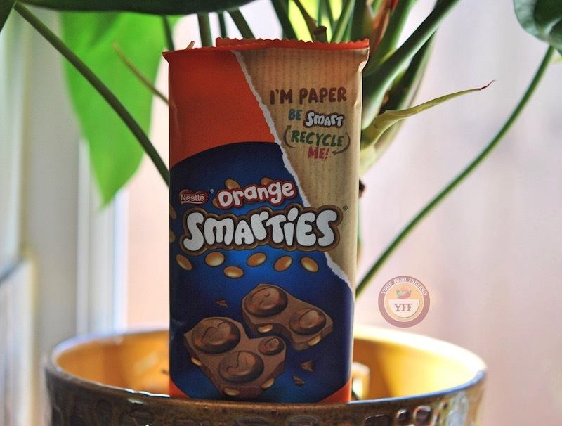Smarties Orange & Chocolate Sharing Block