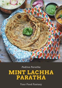 Mint Lachha Paratha Recipe