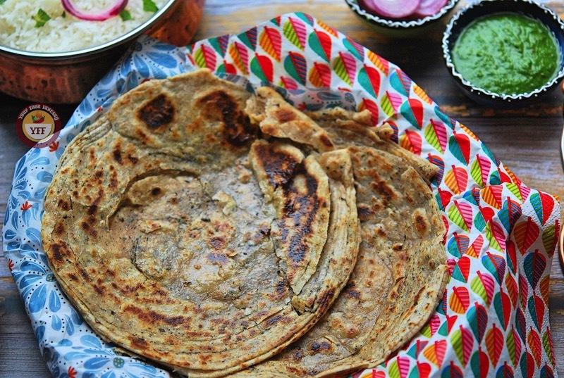 Mint layered lachha paratha recipe