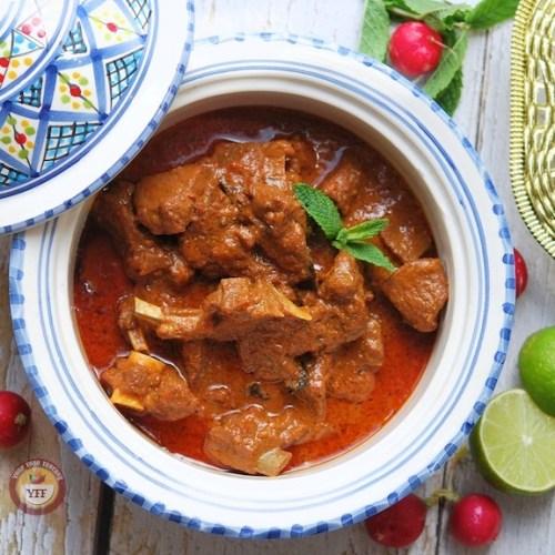 Rajasthani Laal Maas Recipe
