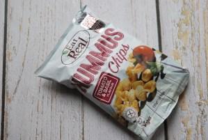 Eat Real Snacks - Hummus Tomato and Basil Chips