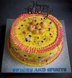 Rasmalai Cake Design 10 Inch Rasmalai Cake